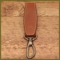 革のベルト・キーホルダー(手作り革製品)革小物