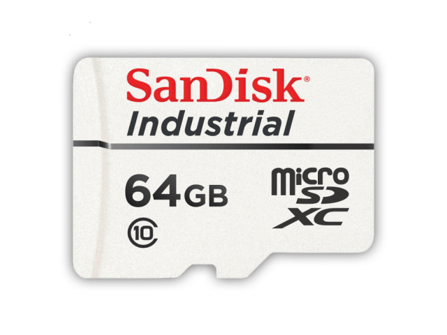 SanDisk microSD 64GB 産業用 MLC CL10