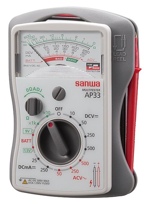 AP-33 デジタルテスター  三和電気計器 SANWA