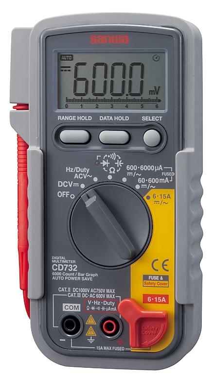 CD-732 デジタルテスター 三和電気計器 SANWA