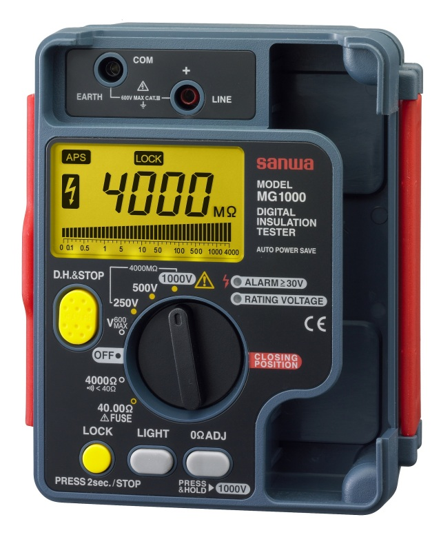 MG-1000 デジタル絶縁抵抗計 三和電気計器 SANWA