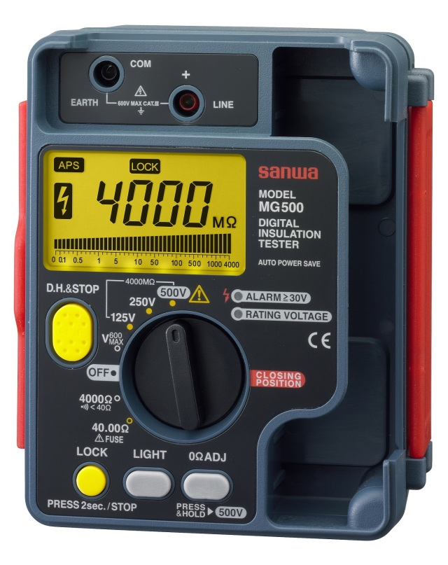 MG-500 デジタル絶縁抵抗計 三和電気計器 SANWA