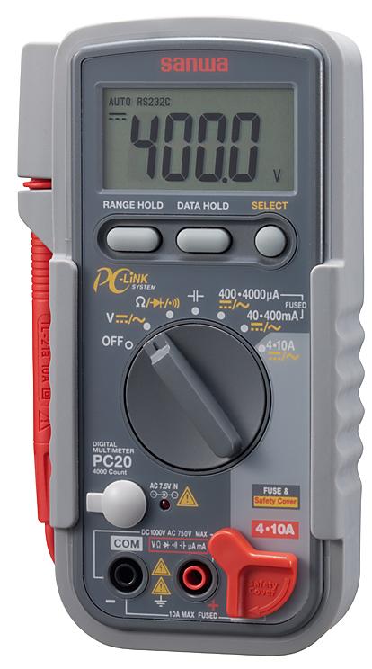 PC-20 デジタルテスター 三和電気計器 SANWA