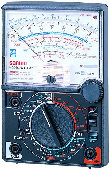 SH-88TR アナログテスター 三和電気計器 SANWA