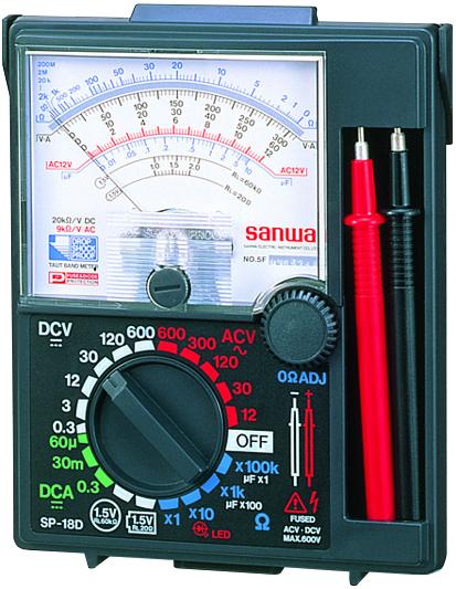 SP-18D アナログテスター 三和電気計器 SANWA