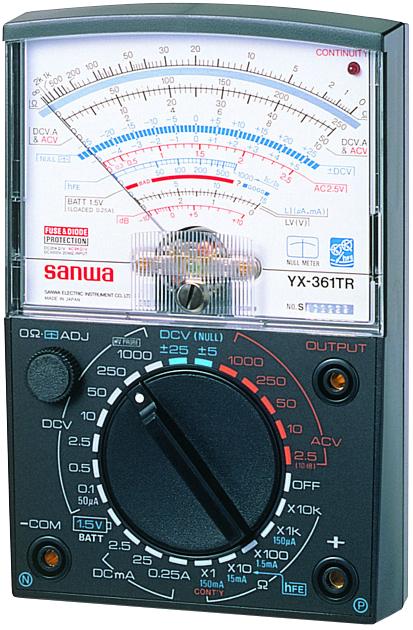 YX-361TR アナログテスター  三和電気計器 SANWA