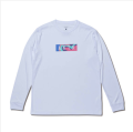 AKTR MULTICOLOR BOX LOGO L/S SPORTS TEE