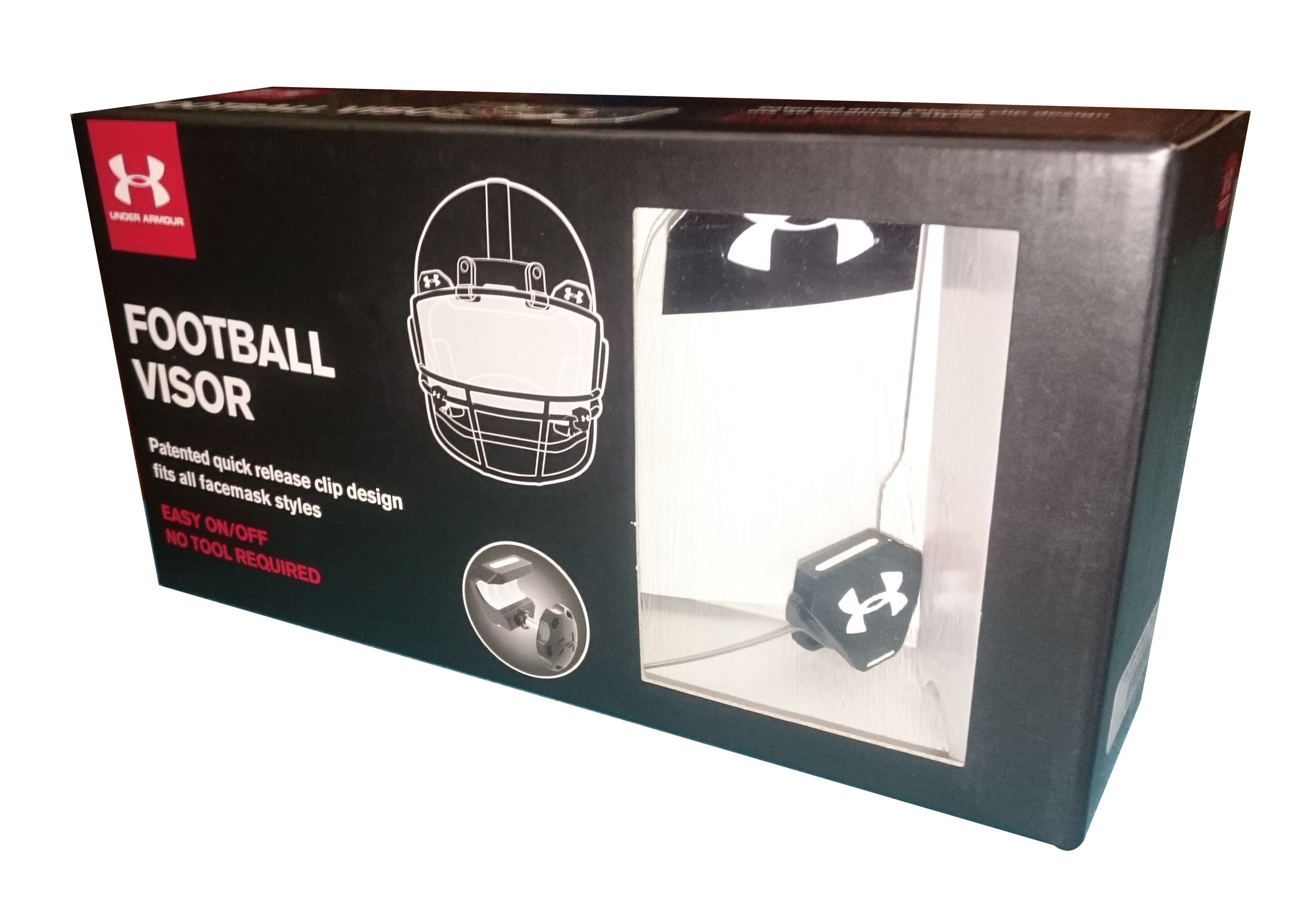 UNDERARMOUR PRO FOOTBALL VISOR