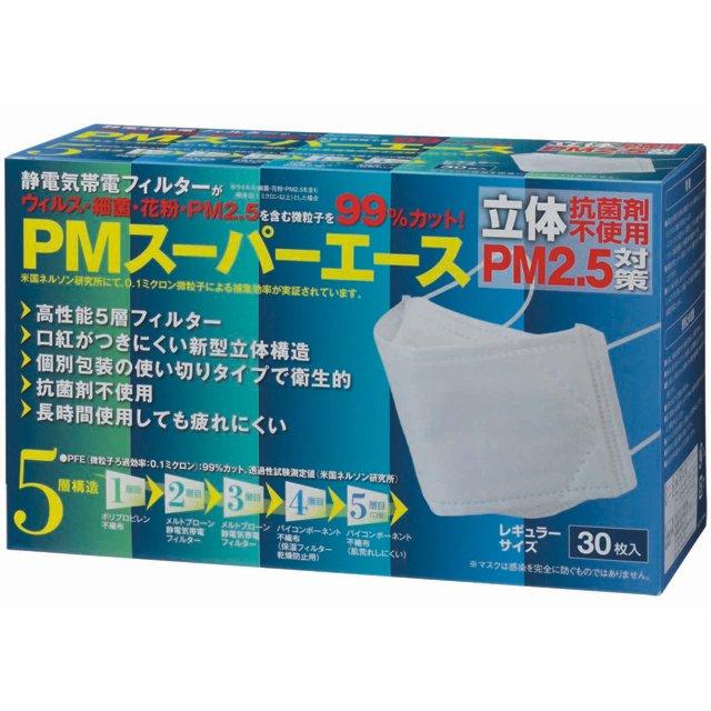 ゼンケン 高機能 立体 マスク PMスーパーエース