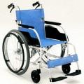 [訳あり]軽くて錆びにくいアルミ製車椅子(エアータイヤ)