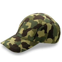 CMF カムフラージュCAP(二枚天型) フリーサイズ  カラー3色【キャップ・帽子/名入れ可】