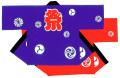 031006001-2 祭袢天・K柄 Sサイズ 身巾62cm 身丈70cm 天竺木綿製【はんてん・はっぴ】