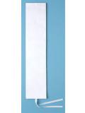 074001001 選挙用タスキ 無地 (カツラギ製) 白【選挙・イベント】