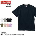 6.0オンス オープンエンド ヘヴィーウェイト Tシャツ 全8色 | S M L XL United Athle 4208-01