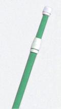 4Mポール スライド式/緑 10本入り【のぼり用ポール・のぼりポール・のぼり竿】