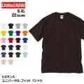 5.0オンス ユニバーサル フィット Tシャツ 全22色 | S M L XL United Athle 5400-01