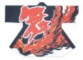 杉-7498 袢天・杉印 身丈85×身巾68cm 天竺木綿製【はんてん・はっぴ】