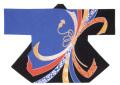 杉-7504 袢天・杉印 身丈85×身巾68cm 天竺木綿製【はんてん・はっぴ】