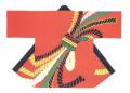 杉-7506 袢天・杉印 身丈85×身巾68cm 天竺木綿製【はんてん・はっぴ】