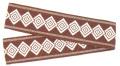 立-8082 半纏帯(袋織)・立印