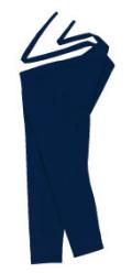 正-8705 先染正藍股引・正印