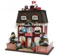 【ドールハウスキット】ウッディハウスコレクション クリスマスハウス【洋風】