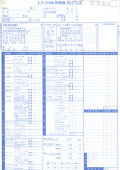 D-9 1・2年車検点検整備請求書/3冊セット(A4 1冊3枚×30)【メール便可】