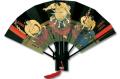 F714 相撲絵図扇 梅ヶ谷【飾り扇子】