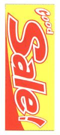 K-9 大のぼり GoodSale(赤) W700mm×H1800mm/自動車販売店向のぼり【メール便可】