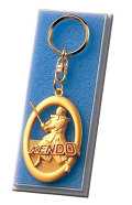MY-9322 メダル/キュービック キーホルダー付・プラケース入り(金色のみ)【表彰グッズ】