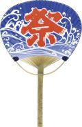 NT-02 青祭/100本セット 竹製うちわ