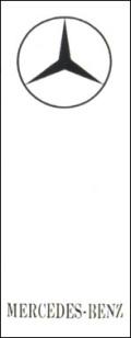 OR-5 外車用のぼり MERCEDES-BENTZ W700mm×H1800mm/自動車販売店向のぼり【メール便可】