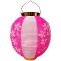 T1H 尺丸 桜柄 ポリ提灯 | 25.5×27cm ちょうちん
