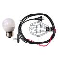 簡易防水型提灯用ソケットコード 1灯用 防雨型提灯用LED電球セット【提灯用ソケットコード/ちょうちん用】
