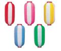 新K 9号長型提灯 2色 24×60cm ビニール ★おすすめ商品【ちょうちん】