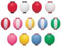 新K 9号丸型提灯 24×36cm ビニール ★おすすめ商品【ちょうちん】