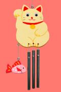 WC-41 ウインドチャイム/招福まねき猫