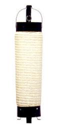 Z502 円筒型提灯 六分長弓張 10×36cm【ちょうちん】