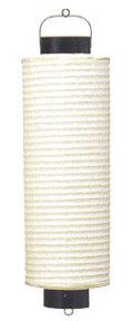 Z711 桶型8号桶提灯 22×75cm【ちょうちん】