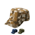 【5個以上~】CMF-1 カムフラージュ CAP 丸天型 全3種 | フリー(調整式) コットンキャップ 帽子 名入れ可能