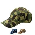 【5個以上~】CMF-2 カムフラージュ CAP 二枚天型 全3種 | フリー(調整式) コットンキャップ 帽子 名入れ可能