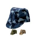 【5個以上~】CMF-3 カムフラージュ CAP 戦闘帽型 全3種 | フリー(調整式) コットンキャップ 帽子 名入れ可能