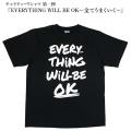 チャリティーTシャツ EVERYTHING WILL BE OK ミャンマーエンジェル | M L 男女兼用 半袖