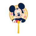 F1047 ミッキーマウス/10本セット キャラクターうちわ