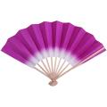 【イベント扇子】F5074 色ぼかし扇子/紫