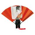 F601 版画扇 歌麿花扇【飾り扇子】