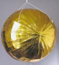 S82-07 金張りくす玉 直径60cm【選挙・イベント・式典】