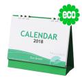 エコグリーン(大)【100部】/卓上カレンダー名入れ