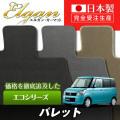 SU0046【スズキ】パレット 専用フロアマット [年式:H20.01-25.02] [型式:MK21S] SW含む (エコシリーズ)