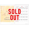 ※完売※100部 1色名入れ 2022年 壁掛けカレンダー A3 カレンダー W297×H420mm 黒印刷 (Y1B2108)